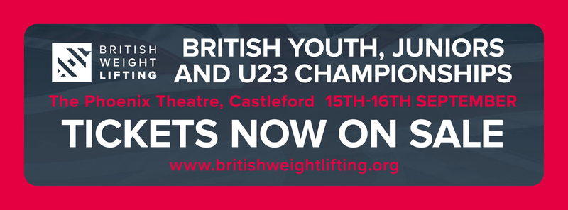 British  Juniors, Youths and U23 Championships Schedule 2018