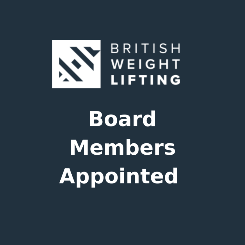 British Weight Lifting Announces Four Board Members