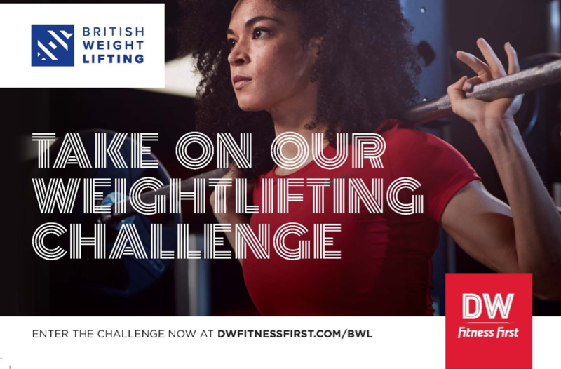 British Weight Lifting Partners With DW Fitness First For Weightlifting Challenge