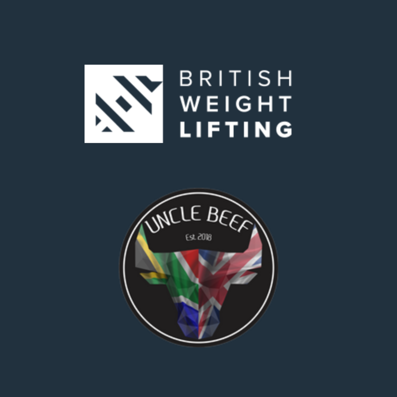 British Weight Lifting Partners With Uncle Beef