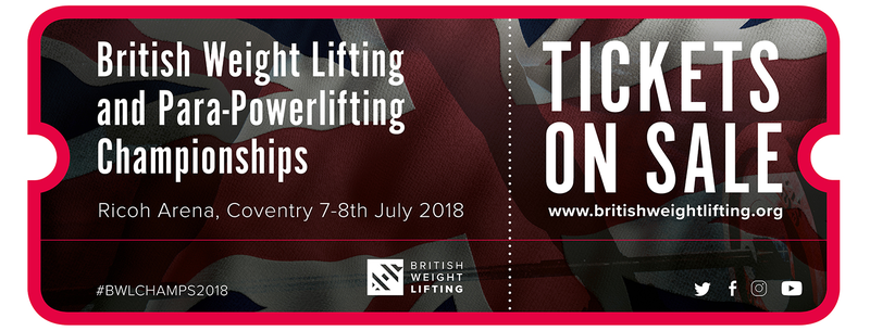 British Weight Lifting and Para Powerlifting Championships Schedule