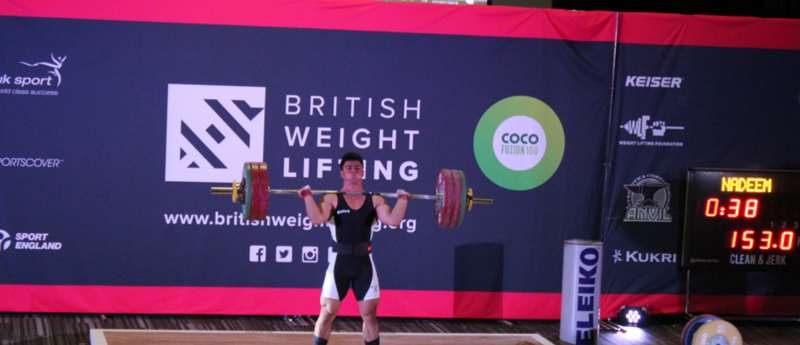 British Weightlifting Championships Title Sponsorship
