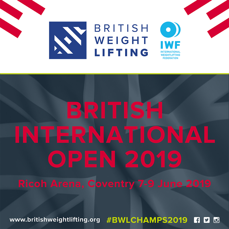 Entry Details For The British International Open 2019