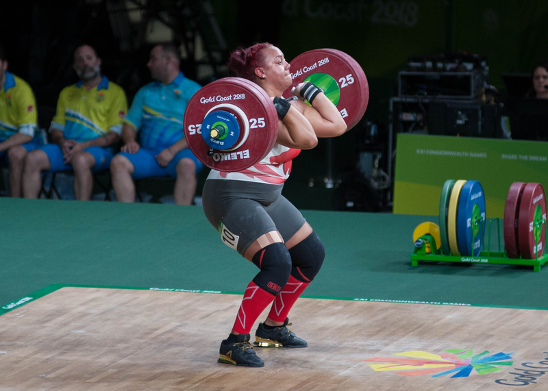 European Weightlifting Championships: Britain's Emily Campbell claims overall Bronze