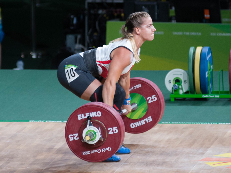 European Weightlifting Championships: Britain's Emily Godley claims overall silver