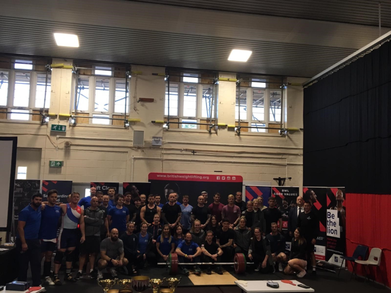 Inaugural British Weight Lifting Inter Services Championship held