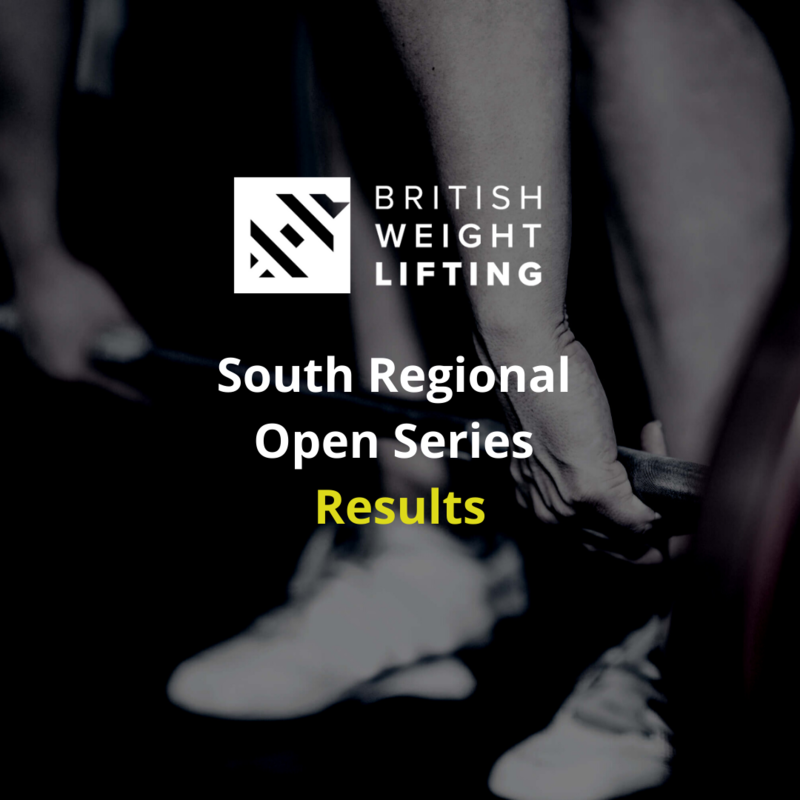 South Open Series finishes with Brunel lifters claiming titles