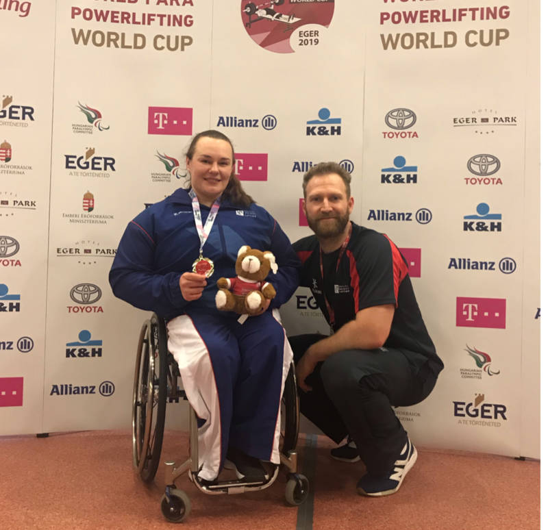 Success For Britain at Para Powerlifting World Cup