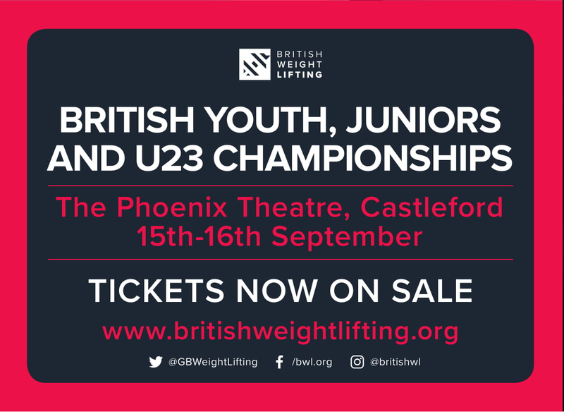 Tickets On Sale For This Year's British Youth, Juniors and U23 Championships