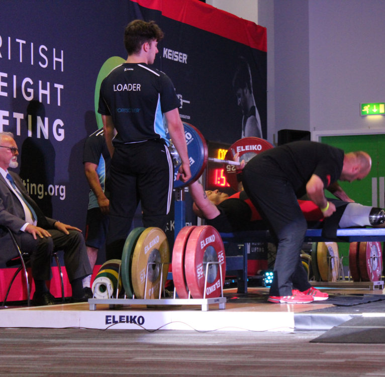 Volunteer at The British Youth, Junior and Under 23 Weightlifting Championships